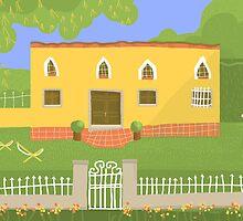 Villa by Nigel Silcock