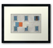 Italian House Framed Print
