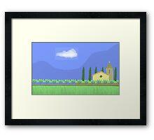 Tuscany countryside Framed Print