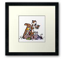 Calvin & Hobbes Framed Print