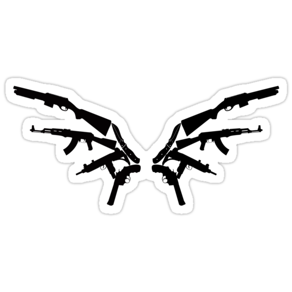 Gun Wings by madkidflava