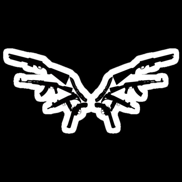 Gun Wings by madkidflava