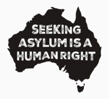Seeking Asylum Is A Human Right by M  Bianchi
