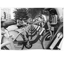 Boris's Bikes Poster