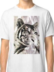 Abstract Smoky Tiger Classic T-Shirt