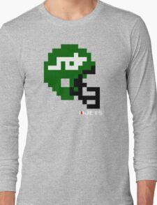 Tecmo Bowl - New York - 8-bit - Mini Helmet shirt Long Sleeve T-Shirt