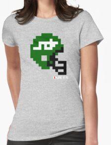 Tecmo Bowl - New York - 8-bit - Mini Helmet shirt Womens Fitted T-Shirt