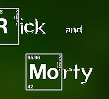 Rick and Morty Breaking Bad intro by boostedartwork