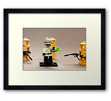 Mad man on the loose! Framed Print
