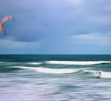 The Wind Surfer by Su Walker