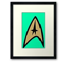 Star Trek TOS Tunic Tees Framed Print