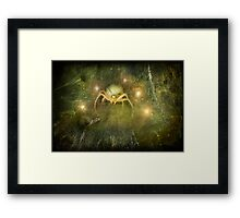 Brian and the Spider Queen... Framed Print
