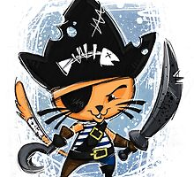 Pirate Cat by Taylor Smith