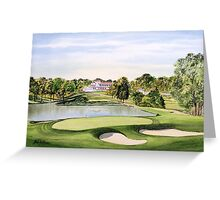 Congressional Golf Course Greeting Card