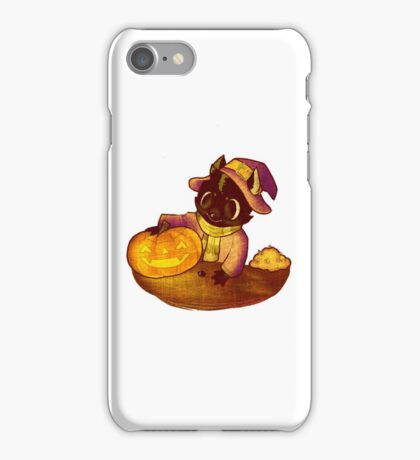 spoopy jack o lantern  iPhone Case/Skin