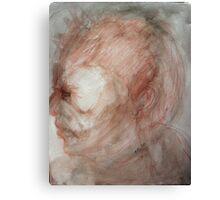 Under David's Face Canvas Print