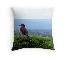 Singing Out! Throw Pillow