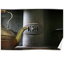 Pot on Stove Poster