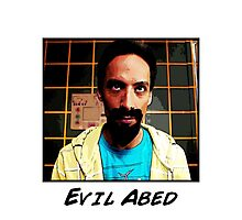 Evil Abed Photographic Print