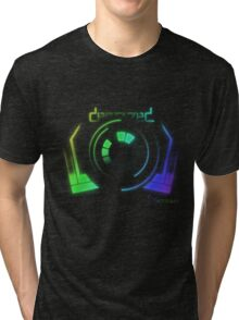 Derezzed - Daft Punk Tri-blend T-Shirt