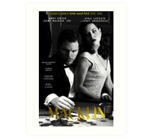"""Macklin"" poster 1 Art Print"
