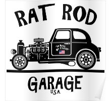 RAT ROD GARAGE...Product of the U.S.A.! Poster