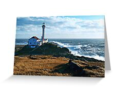 A Gusty Day at the Cape Greeting Card