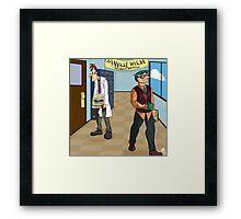 Danville High Framed Print