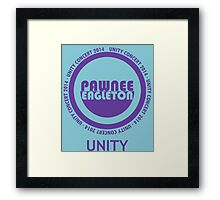 Pawnee-Eagleton unity concert 2014 Framed Print