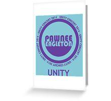 Pawnee-Eagleton unity concert 2014 Greeting Card
