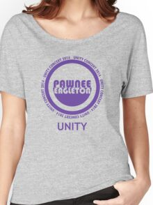 Pawnee-Eagleton unity concert 2014 Women's Relaxed Fit T-Shirt