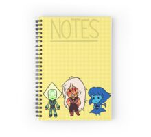 Steven Universe Homeworld gems Spiral Notebook