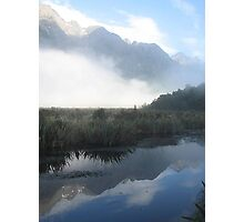 Mirror Lakes - New Zealand Photographic Print