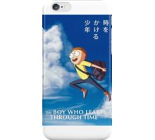 The boy who leapt through time iPhone Case/Skin