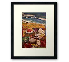 Goofy Heaven Framed Print