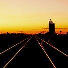 Diminishing Rails by Larry Trupp