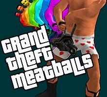 Grand Theft Meatballs by jesusquesadilla