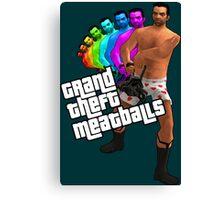 Grand Theft Meatballs Canvas Print