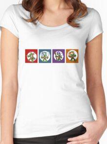 Tiny Mutant Ninja Turtles Women's Fitted Scoop T-Shirt