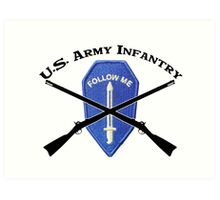 U.S. Infantry - Follow Me Art Print