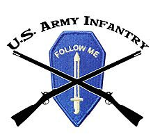 U.S. Infantry - Follow Me Photographic Print