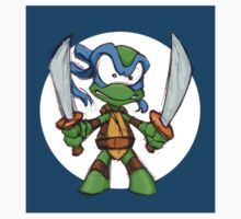 Tiny Mutant Ninja Turtles-Leo by Mike Victa