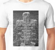 Stone Cross with Verse Unisex T-Shirt