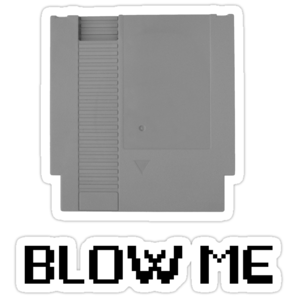 NES Blow Me by ampo