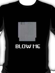 NES Blow Me White T-Shirt