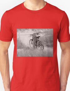 Bicycles At The Beach Unisex T-Shirt