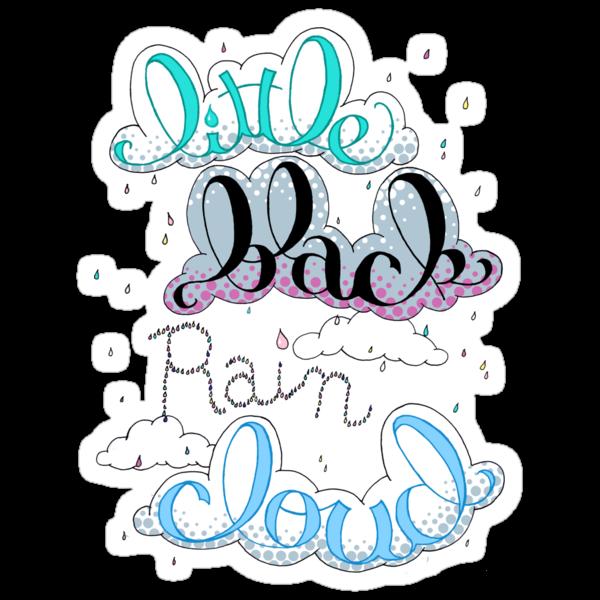 Little Black Rain Cloud by Krystal Frazee