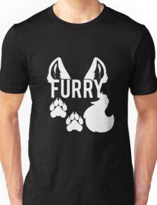 FURRY -white text- Unisex T-Shirt