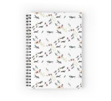 Super Jet Battle Spiral Notebook