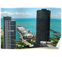 Chicago's Navy Pier Poster